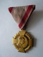 Kříž 60 let vlády, původní stuha, Rakousko, 1848-1908