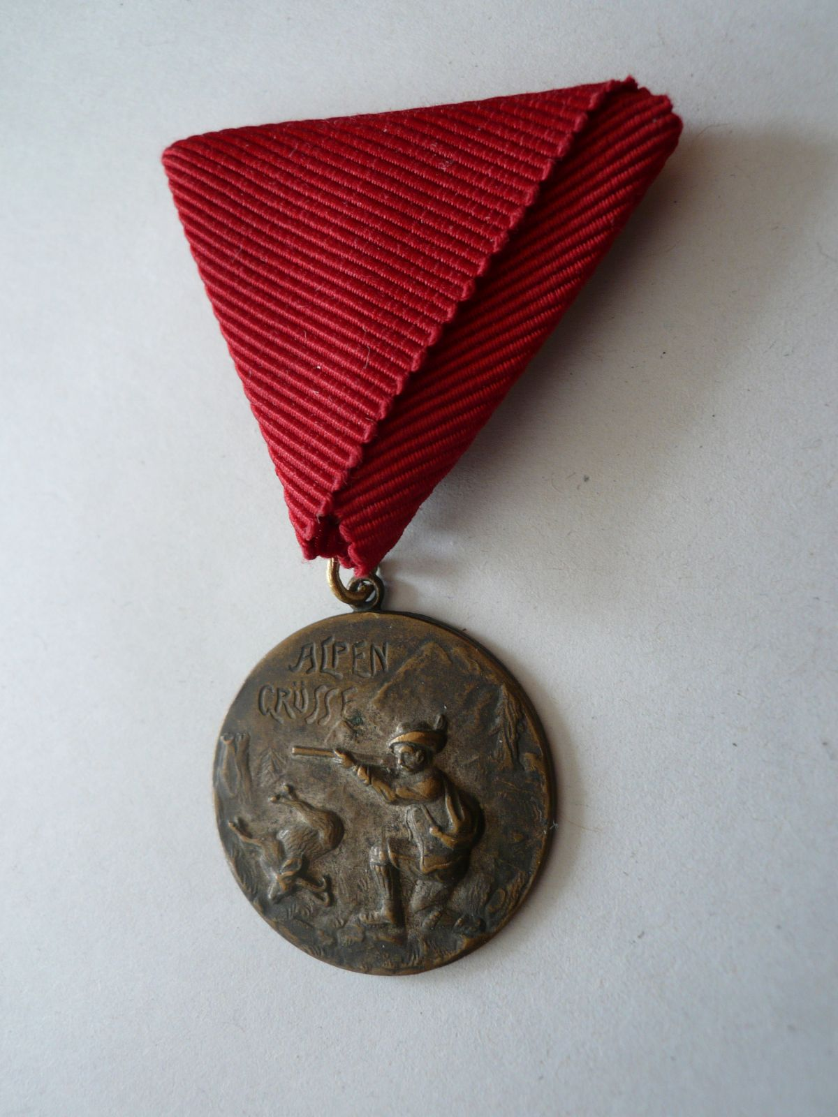 Myslivecká medaile, Alpský hon, Rakousko
