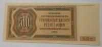 P-Č+M 500 Koruna 1942 Brandl K-perf