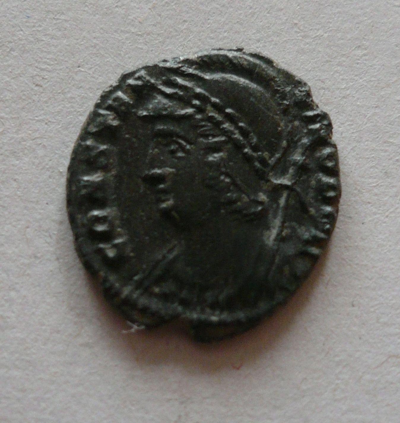 pamětní ražba, Urbs Roma, Řím, Sear 17.523, Řím-císařství, 330-46