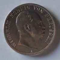 Prusko Tolar 1867 A Vilém I.