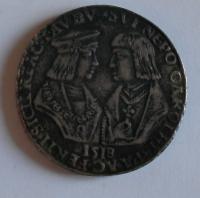 Rakousko Guldiner 1518 Maxmilián I. Kopie