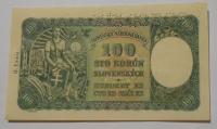 Slovensko 100 Koruna 1940 A-9 perf