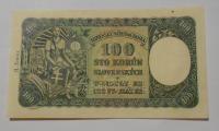Slovensko 100 Koruna 1940 B-7 perf