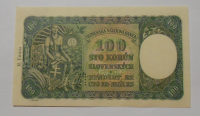 Slovensko 100 Koruna 1940 M-1 perf