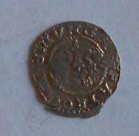 Uhry Denár 1606 KB Rudolf II.