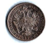 1 Zlatník/Gulden (1858-ražba V), stav 1/1 hr.