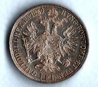 1 Zlatník/Gulden (1859-ražba E), stav 1+/1+
