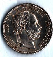 1 Zlatník/Gulden (1875-ražba bz), stav 1/1 dr.hr.