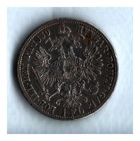 1 Zlatník/Gulden (1880-ražba bz), stav 1/1 dr.hr.
