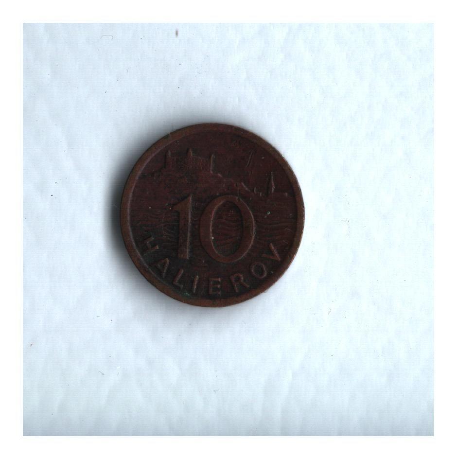 10 Halierov(1942), stav 1+/1+