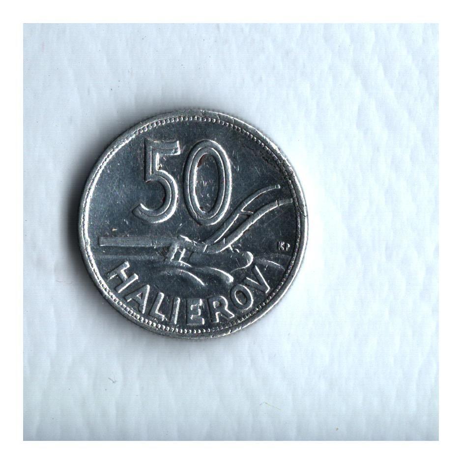 50 Halierov(1943, Al), stav 1/1 hr.