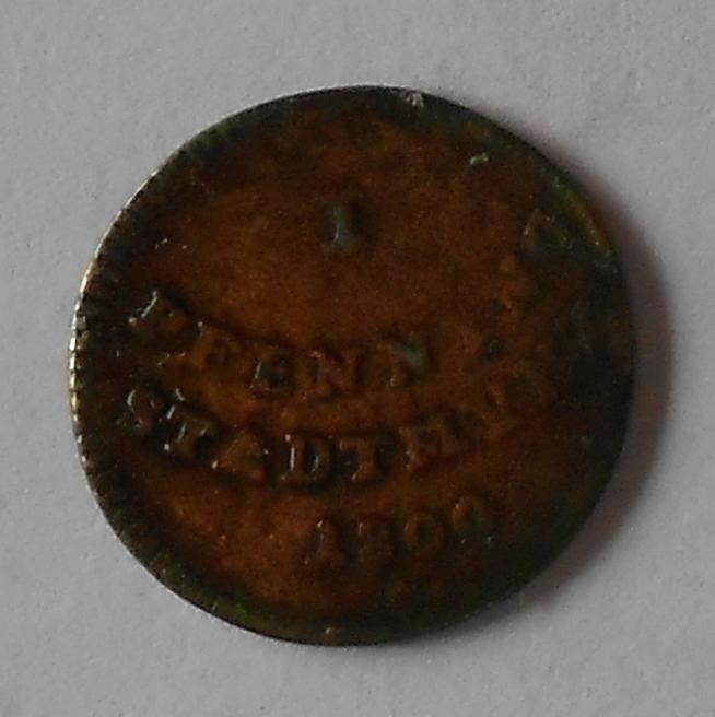 Augsburg 1 Pfenik 1800