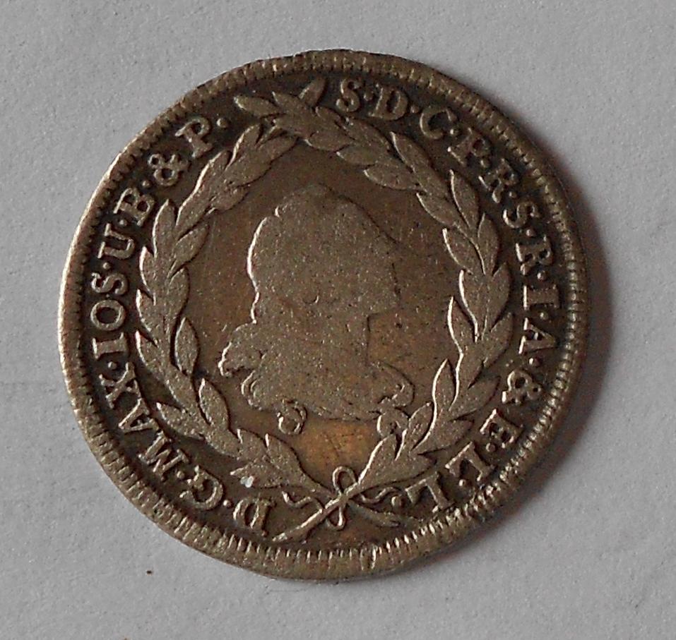 Bavorsko 10 Krejcar 1775 Max. Josef