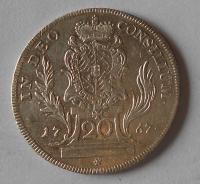 Bavorsko 20 Krejcar 1747 Max. Josef