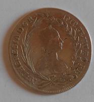 Čechy – Praha 20 Krejcar 1754 Marie Terezie