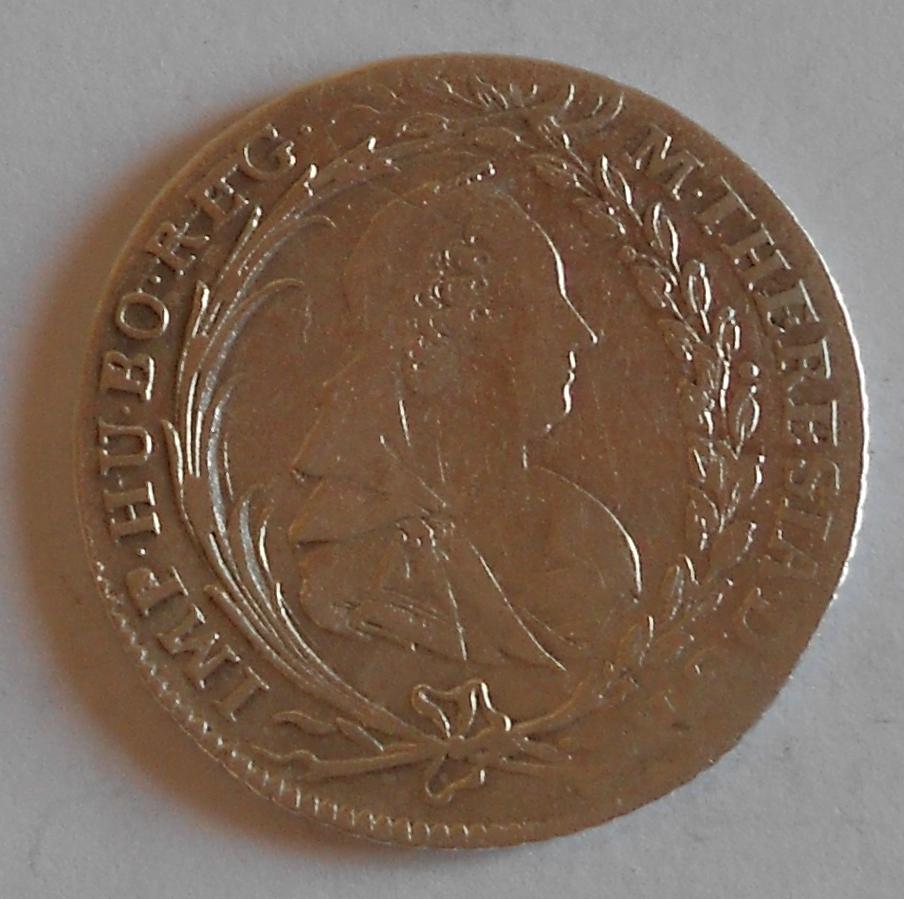 Čechy – Praha 20 Krejcar 1771 Marie Terezie
