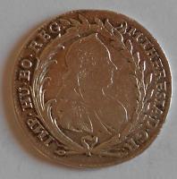 Čechy – Praha 20 Krejcar 1777 Marie Terezie stav