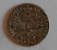 Čechy – Praha 3 Krejcar 1761 KB Marie Terezie