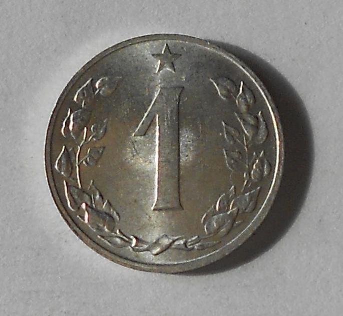 ČSR 1 Haléř 1959 stav