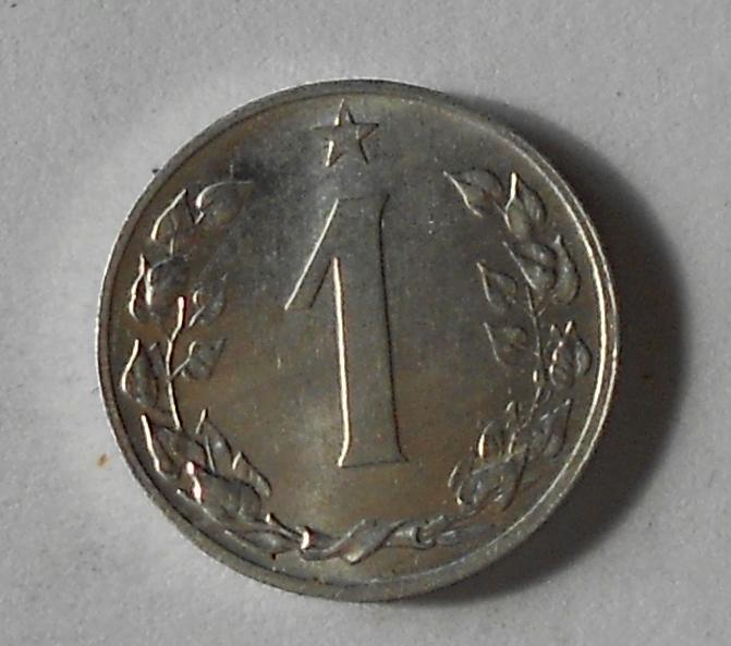 ČSR 1 Haléř 1960 stav