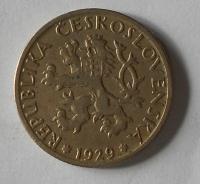 ČSR 1 Kč 1929