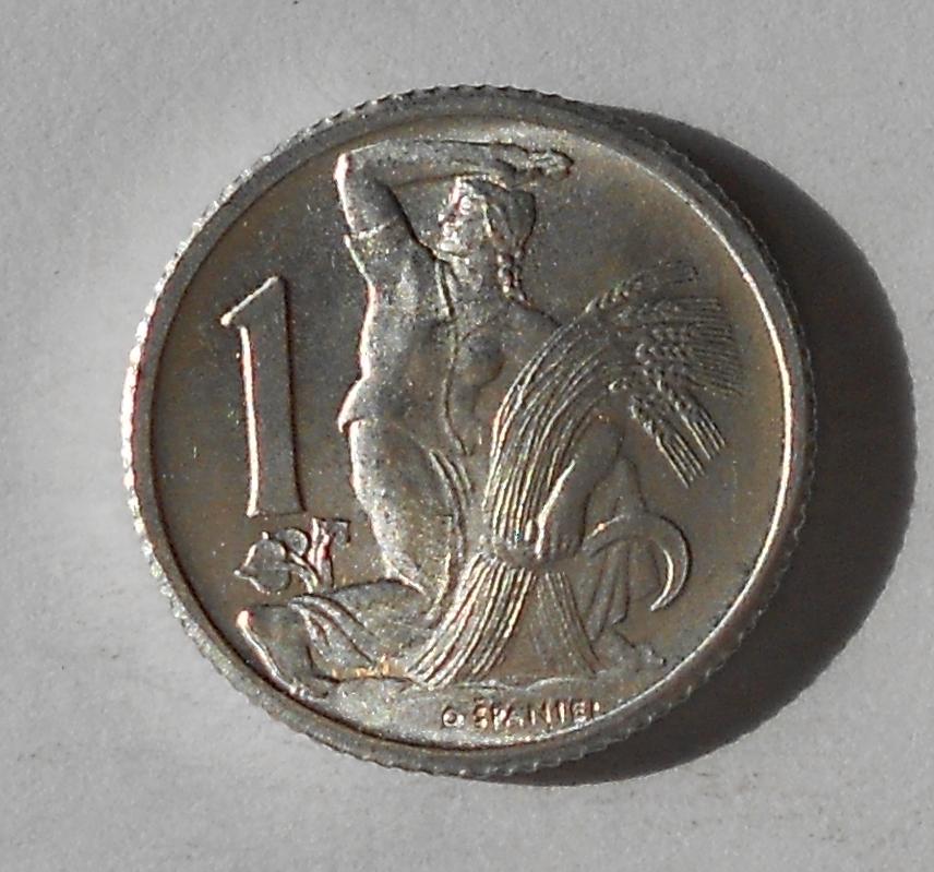 ČSR 1 Kčs 1950 stav