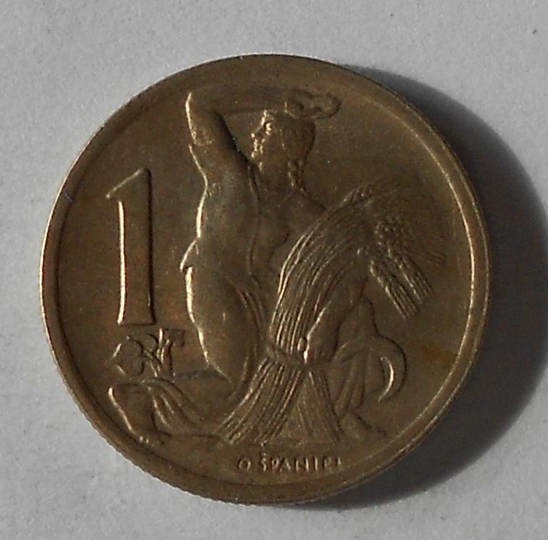 ČSR 1 Koruna 1947