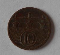 ČSR 10 Haléř 1924