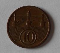 ČSR 10 Haléř 1933 stav