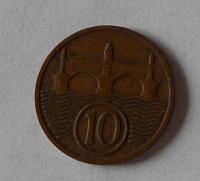 ČSR 10 Haléř 1934