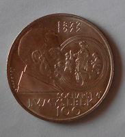 ČSR 100 Kčs 1972 J. Myslbek