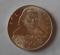 ČSR 100 Kčs 1972 Sládkovič