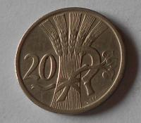 ČSR 20 Haléř 1921 stav