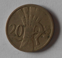 ČSR 20 Haléř 1922