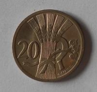ČSR 20 Haléř 1924 stav