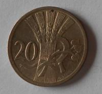 ČSR 20 Haléř 1926 stav