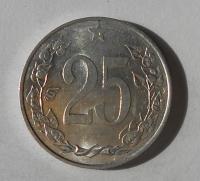 ČSR 25 Haléř 1953 stav