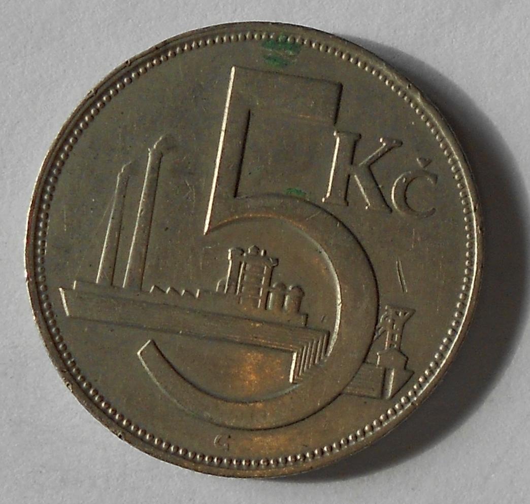 ČSR 5 Kč 1926