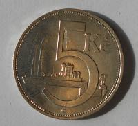 ČSR 5 Kč 1928
