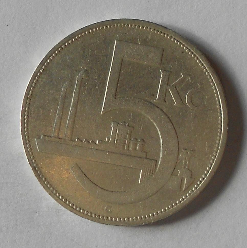ČSR 5 Kč 1932