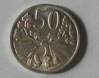 ČSR 50 Haléř 1953 stav