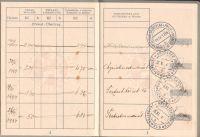 ČSR Poštovní spořitelna Dubí 1934