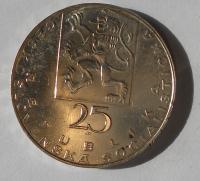 ČSSR 25 Kčs 1969 Purkyně