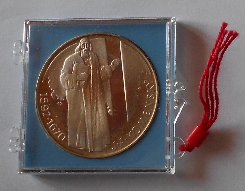 ČSSR 500 Koruna 1992 Komenský, proof
