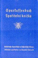 P-Č+M Spořitelní knížka 1942 Slezská Ostrava