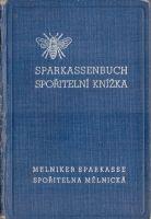 P-Č+M Spořitelní knížka 1943