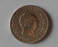 Prusko 1 Stř Groš 1857 A Vilém I.