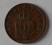 Prusko 3 Pfenik 1869 A