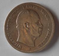 Prusko 5 Marek 1876 B Vilém I.